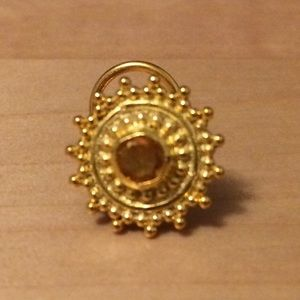 Jewelry Nwot 24kt Gold Plated Sunbeam Nose Ring Poshmark